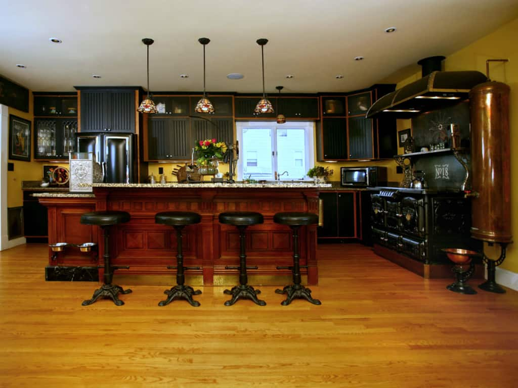 Kitchen decor ideas steampunk kitchen house interior for House kitchen design photos
