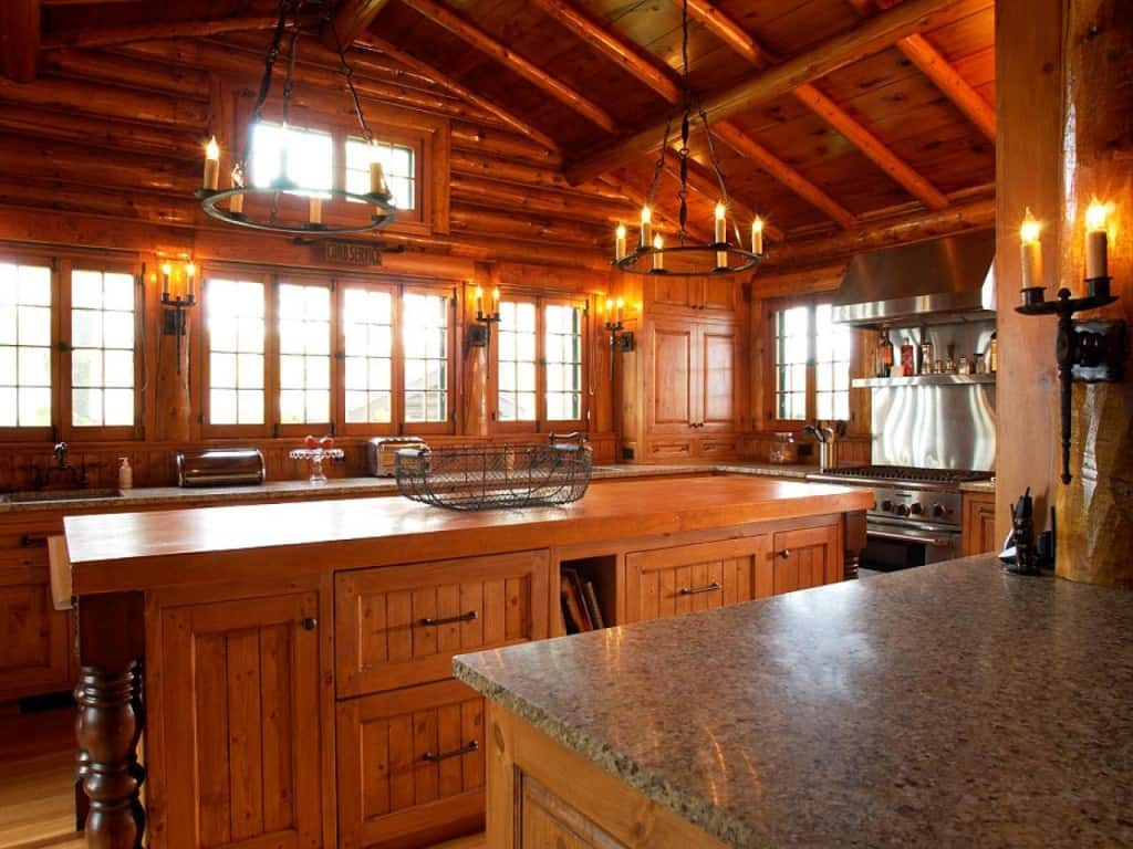 Kitchen decor ideas steampunk kitchen house interior for Country kitchen designs