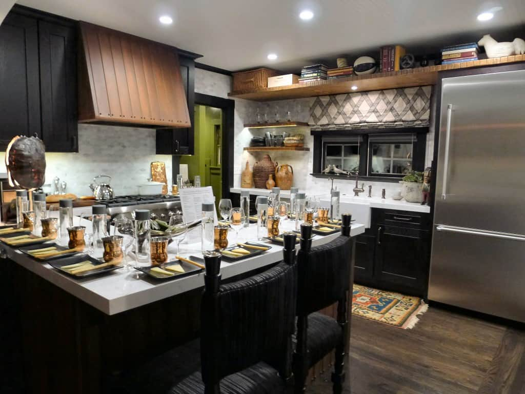 Kitchen decor ideas steampunk kitchen Bedroom with kitchen design