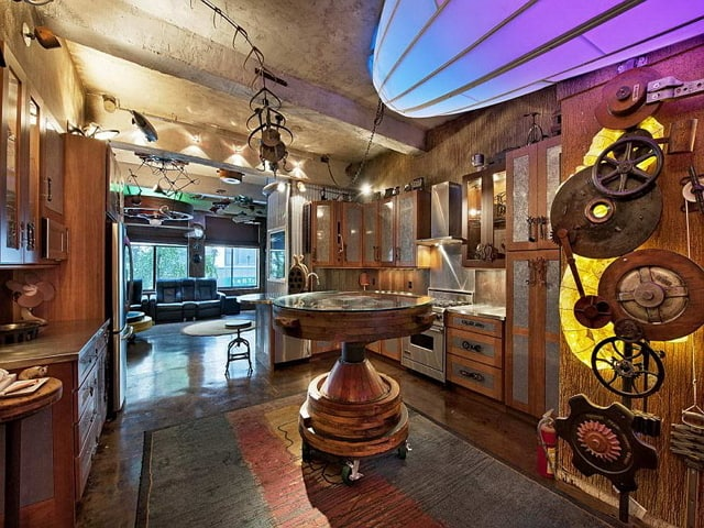 Kitchen decor ideas steampunk kitchen for Steampunk kitchen accessories