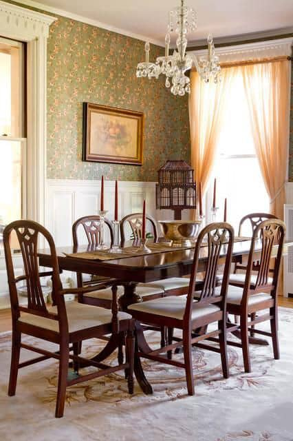 Dining room decorating ideas victorian dining room for Traditional dining room art