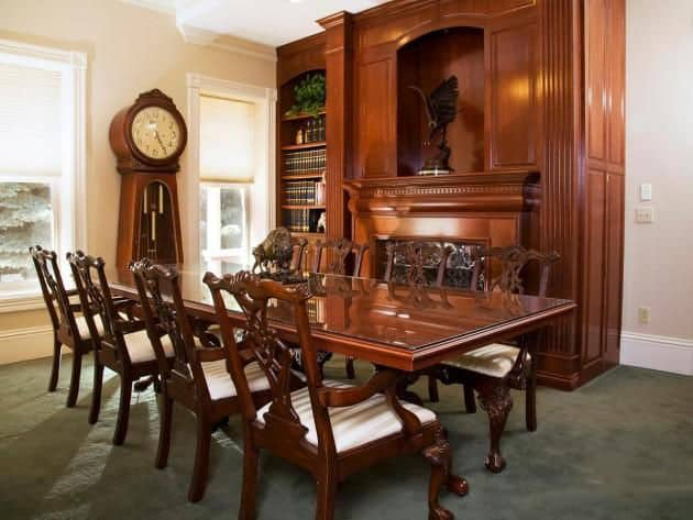 Dining room decorating ideas victorian dining room for Modern dining room accessories