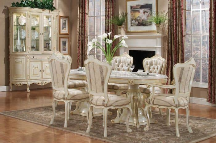 Dining room decorating ideas Victorian dining room  : Victorian dining room modern dining room dining room decorating ideas Victorian decor 6 from house-interior.net size 700 x 463 jpeg 69kB