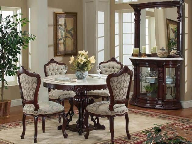 Dining room decorating ideas victorian dining room for Dining decor home