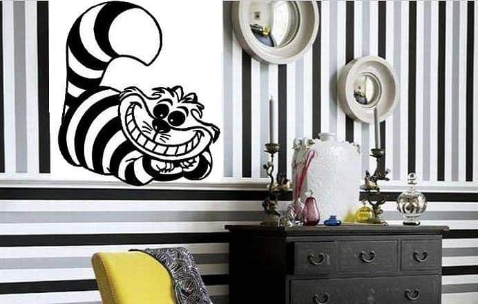 Alice In Wonderland Decor Kids Room Ideas Alice In