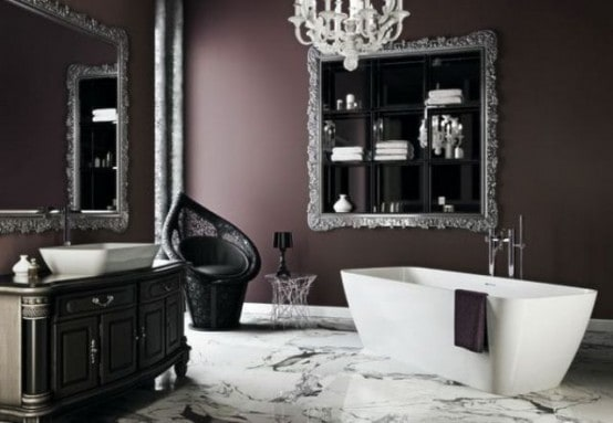 Bathroom Interior Design Tips And Ideas ~ Home decor trends gothic bathroom