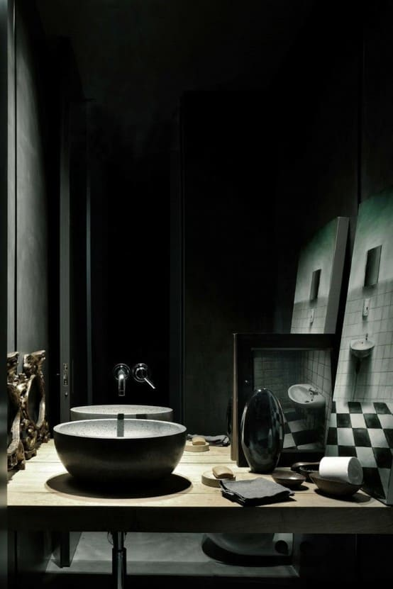 Home Decor Trends 2017 Gothic Bathroom