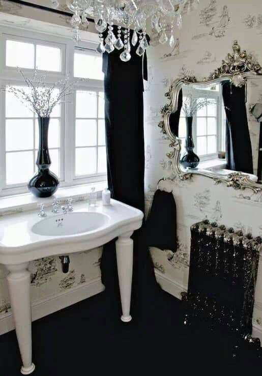 Small Home Interior Design Ideas: Home Decor Trends 2017: Gothic Bathroom