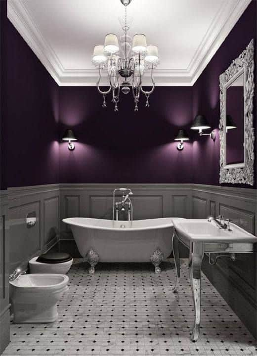 Home Design Ideas 2017: Home Decor Trends 2017: Gothic Bathroom
