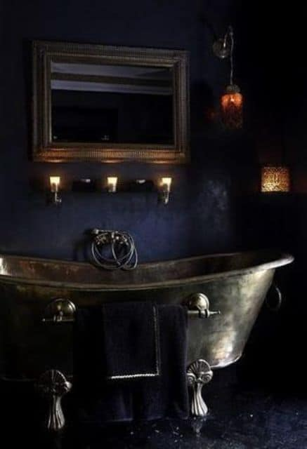 Gothic Bathroom Ideas Decor Modern