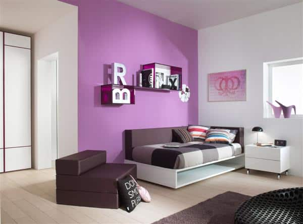 Home decor trends 2017 purple teen room - What are the latest trends in home decorating image ...