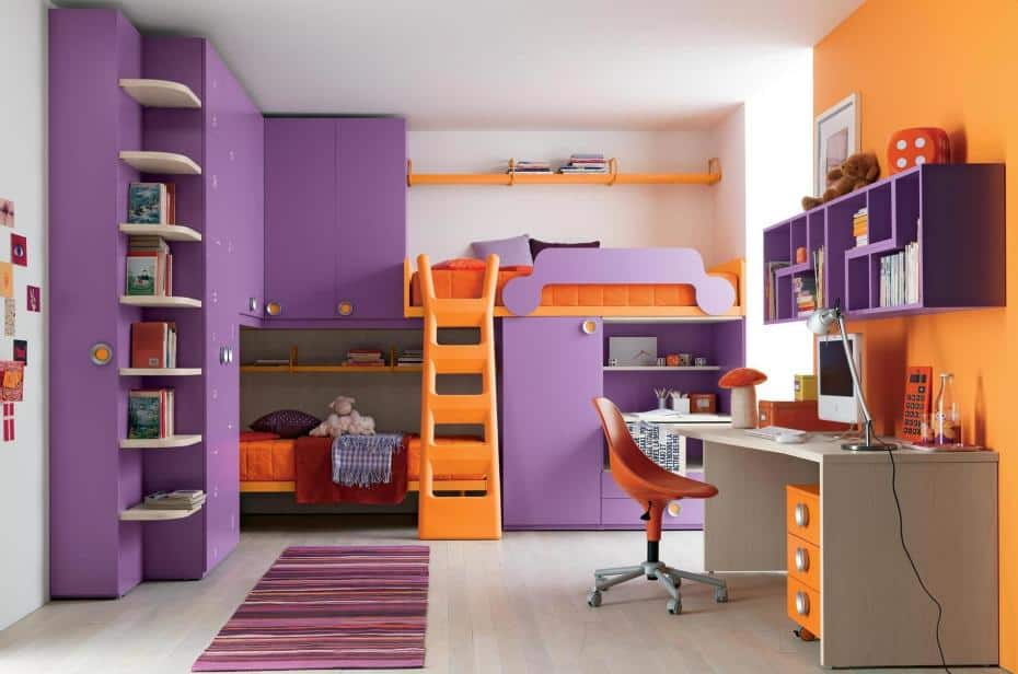 Ideas For Teen Bedrooms home decor trends 2017: purple teen room