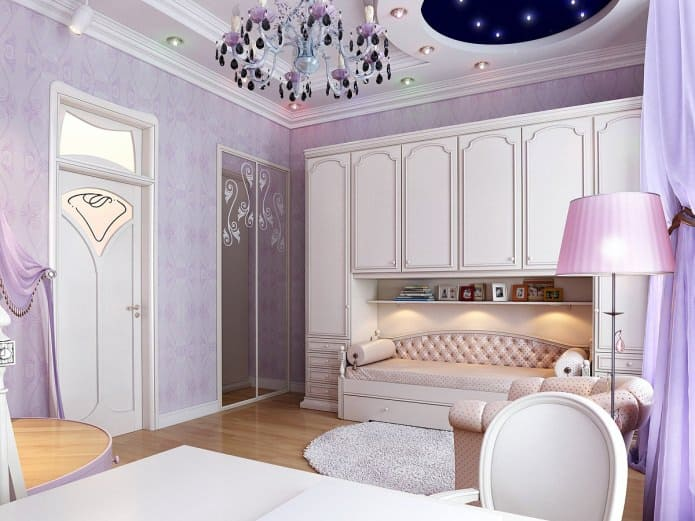 Home decor trends 2017 purple teen room for Purple bedroom design ideas