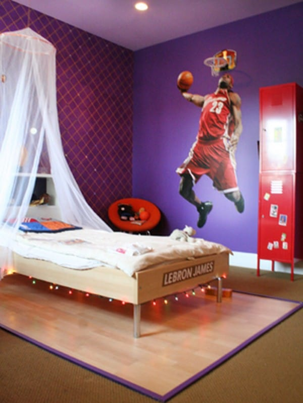 Home decor trends 2017 purple teen room house interior for Interior teenage bedroom designs