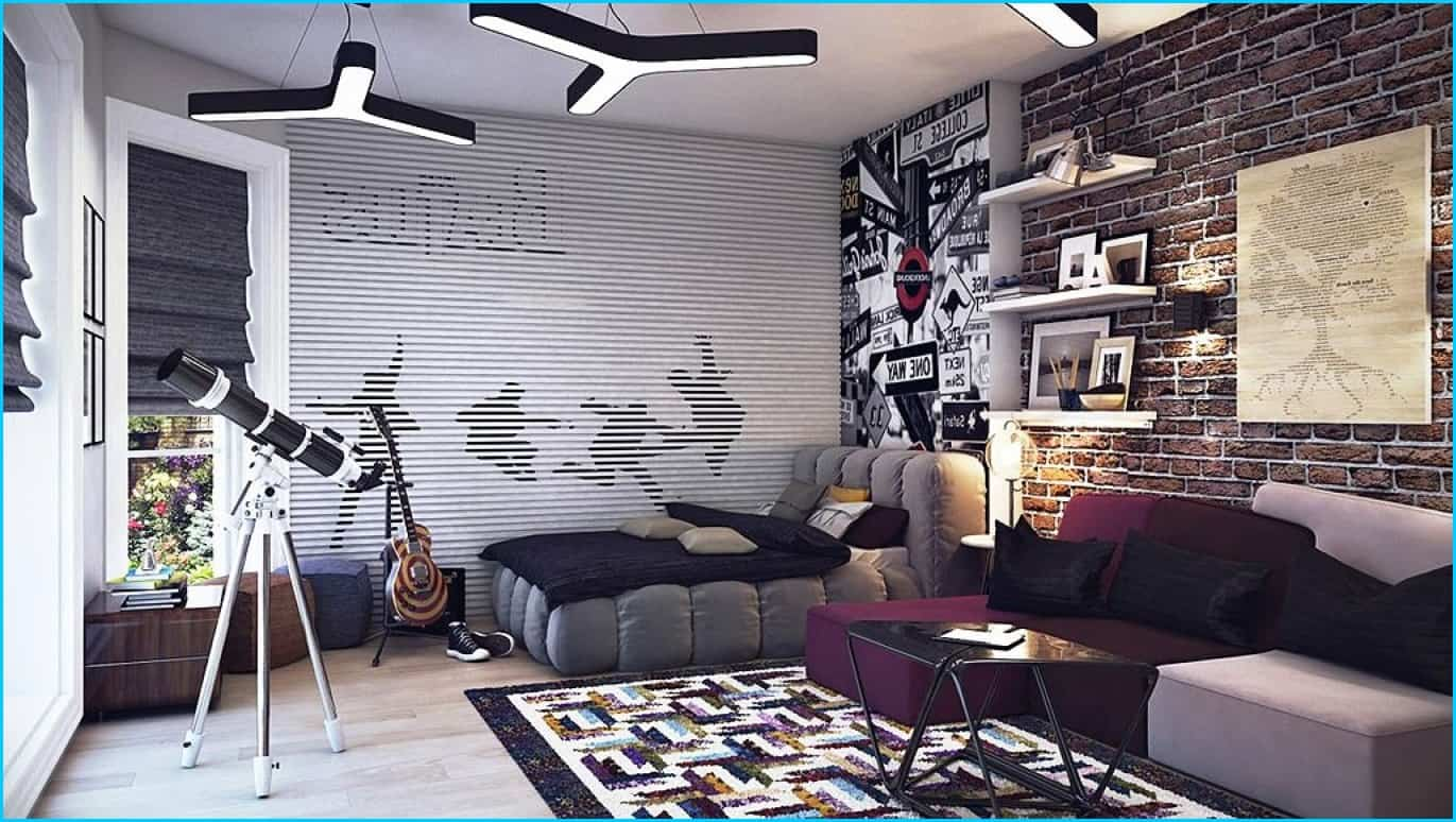 Teenage boys bedroom designs - Purple Teen Room Girls Room Bedroom Ideas Teen