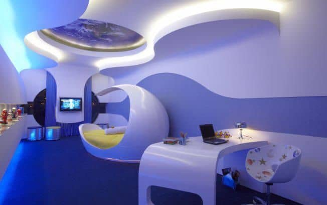 How To Make A Room Look Like A Spaceship