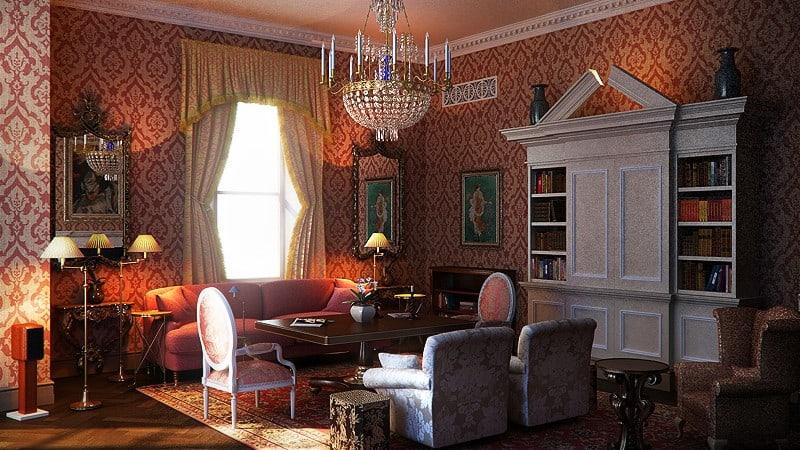 Interior Design Trends 2017 Retro Living Room House Interior