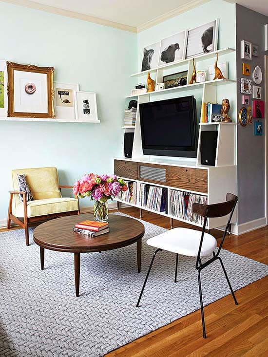 Interior Design For Living Room For Small Space: Interior Design Trends 2017: Retro Living Room