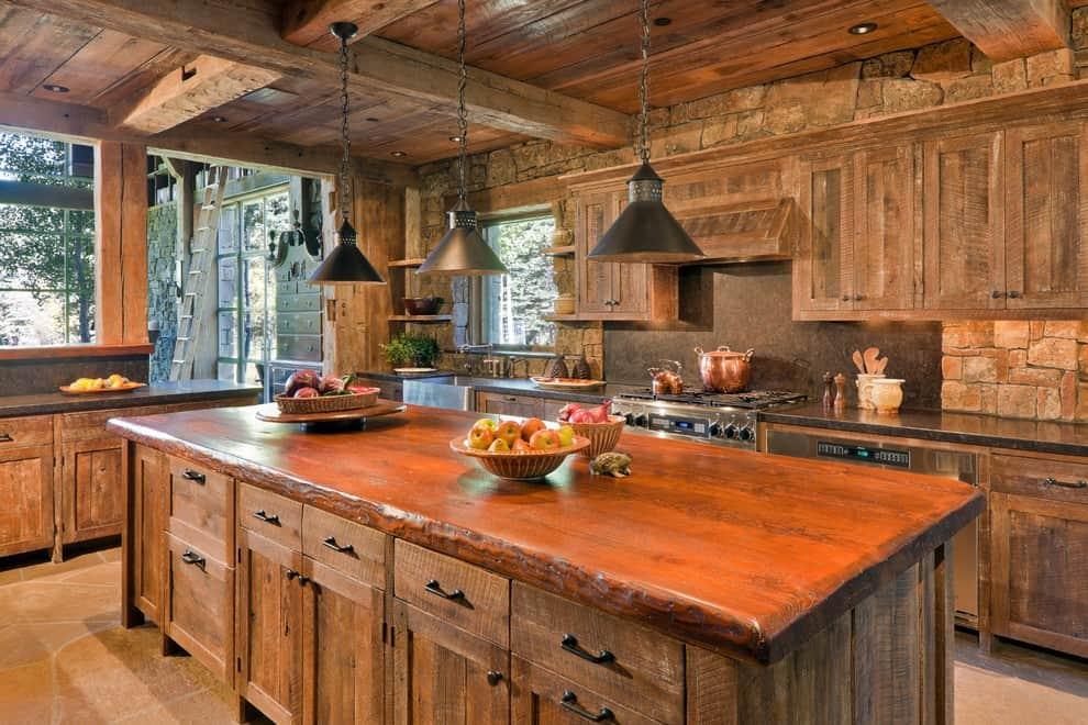 Interior design trends 2017 rustic kitchen decor house for Kitchen design 2017 modern