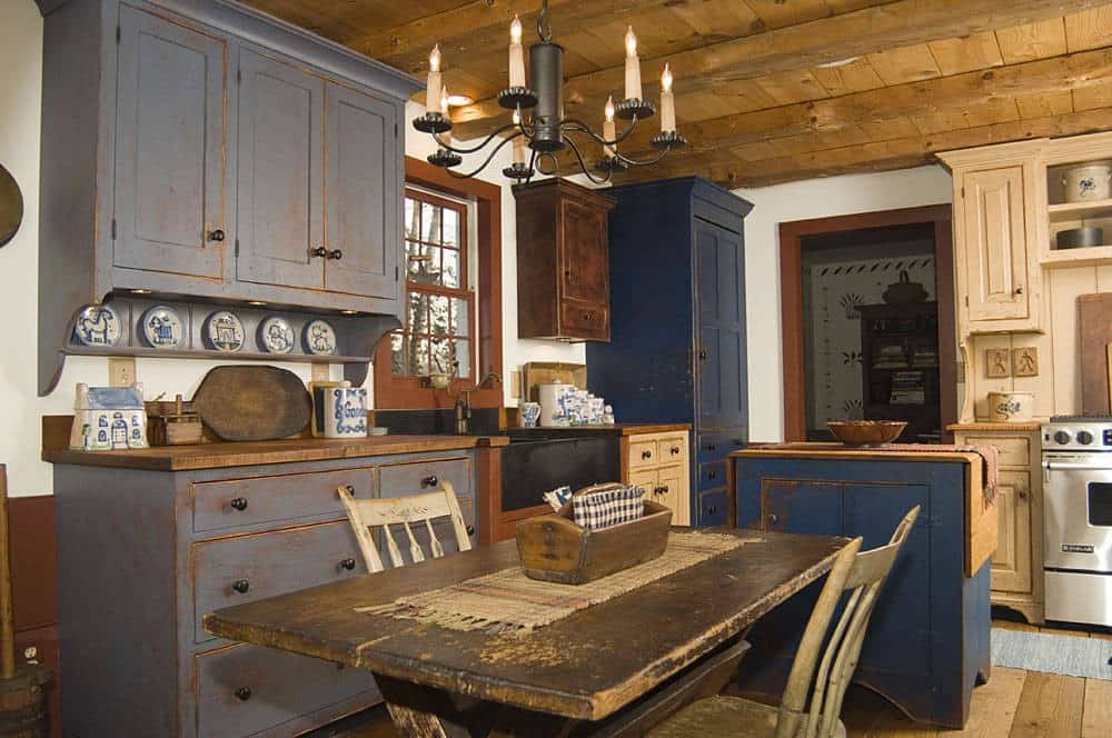 Interior design trends 2017 rustic kitchen decor Kitchen design for village
