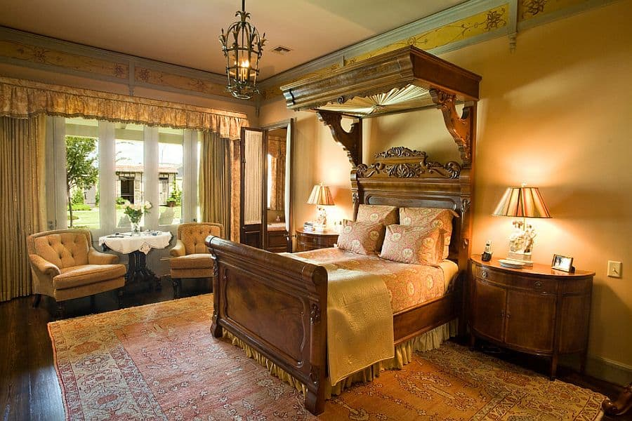 Decorating trends 2017 victorian bedroom house interior for Classic american decorating style