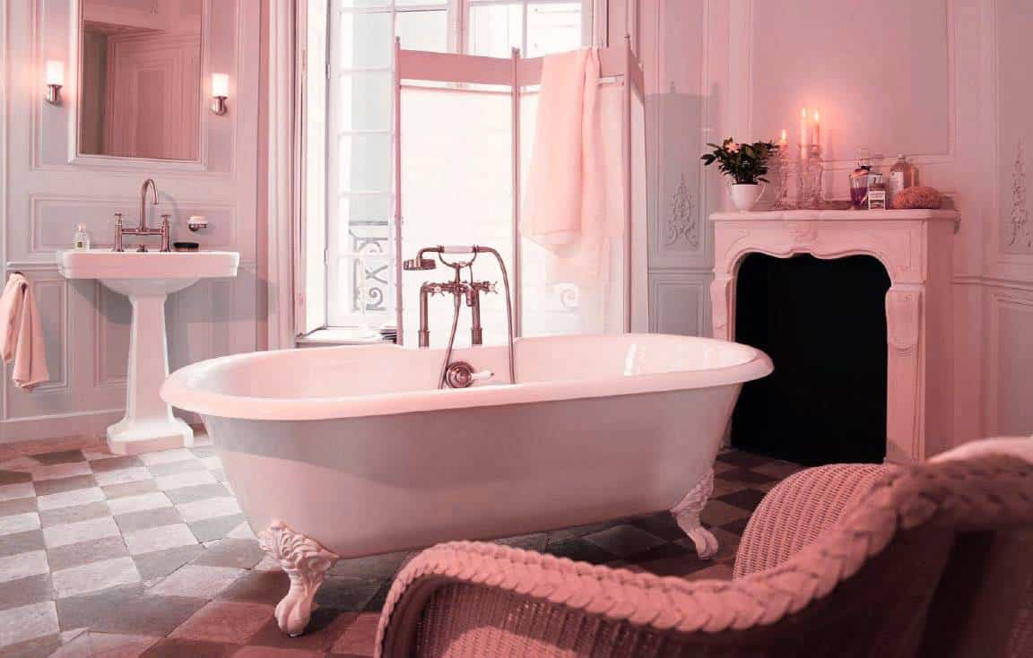 Interior trends 2017 vintage bathroom for Decorating tips