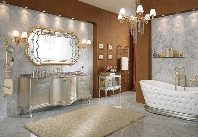Interior trends 2017 vintage bathroom - Luxury bathroom designs with stunning interior ...