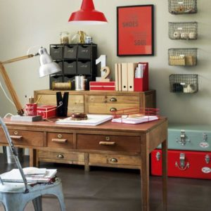 Vintage-office- office-design-ideas- office-decor- interior-design ...