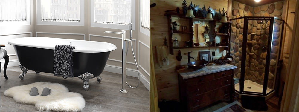 Bathtub and cabin Bathroom trends 2020