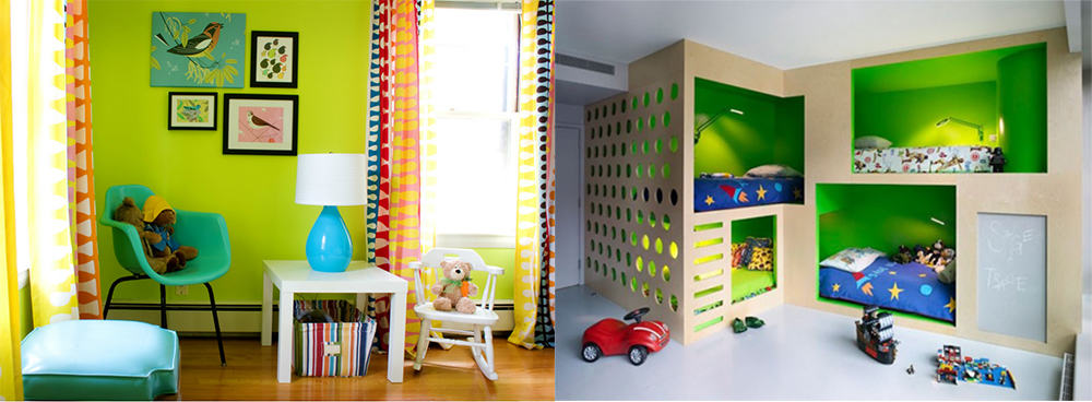 Green-Kids-room-2019-kids-room-design-kids-room-ideas-Kids room 2019