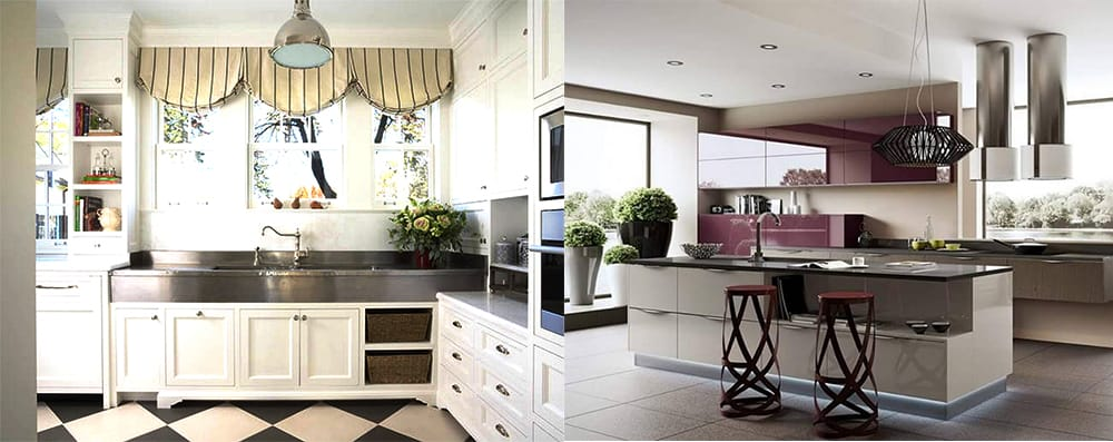 Kitchen and dining room combination designs for Kitchen design trends