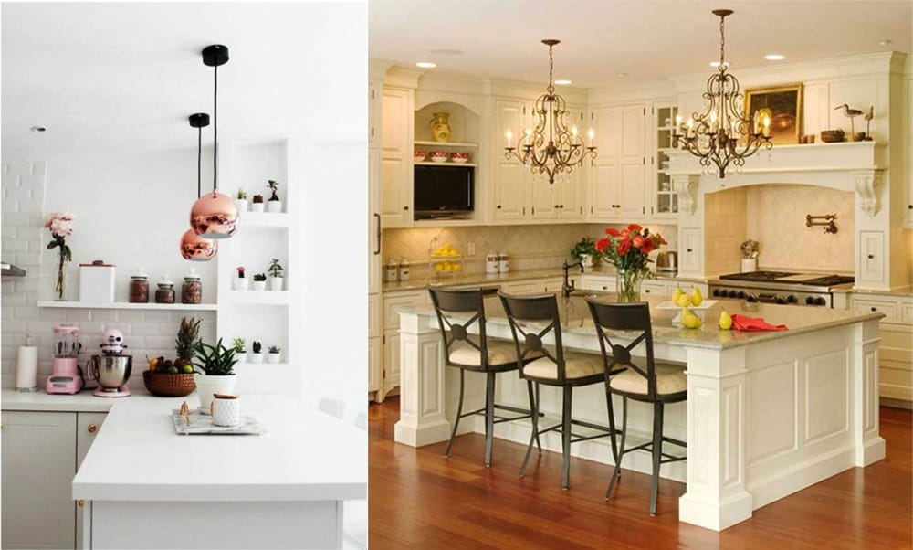 Kitchen islands white five kitchen upgrades for a fresh for Kitchen looks ideas