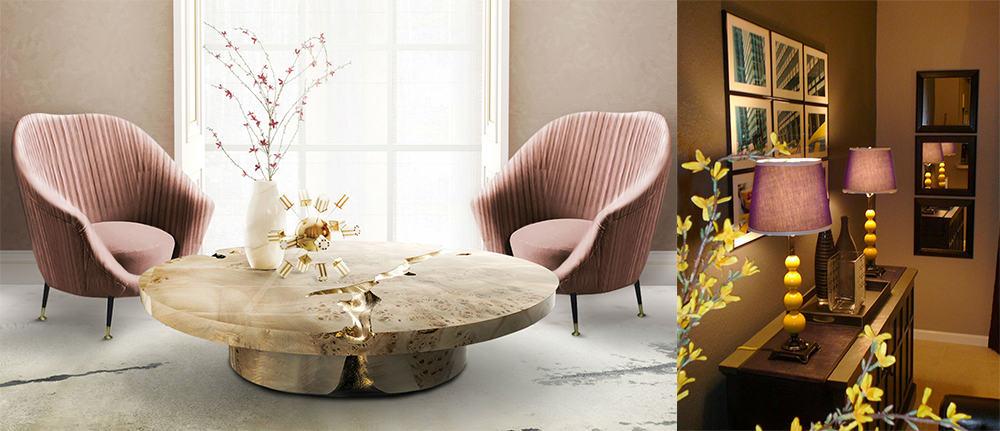 Materials integrality principle in accessories living room designs 2020