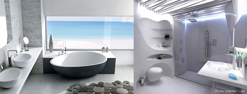 Natures shapes bathroom ideas 2020