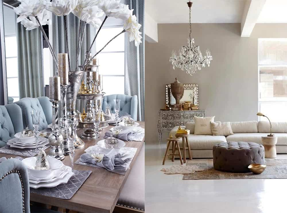 Neutral Metallics Interior Design Trends 2018 Home Decor