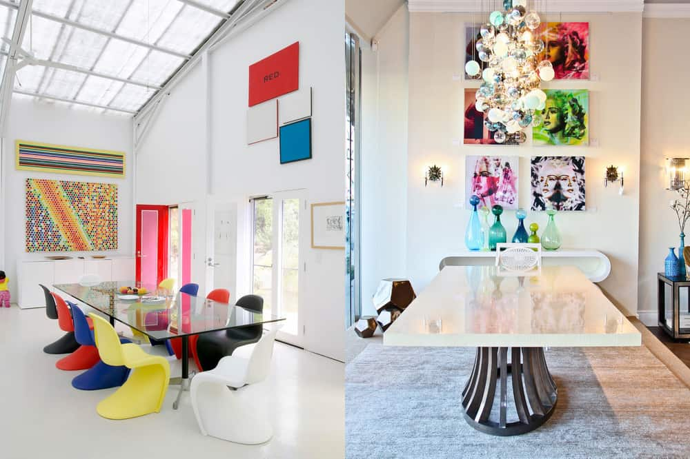 Pop Art Dining Room 2018 Trends
