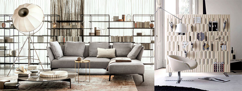 Shells-and-installation-as-space-divider-Living-room-2020-interior-design-trends-2020-living-room-designs-2020