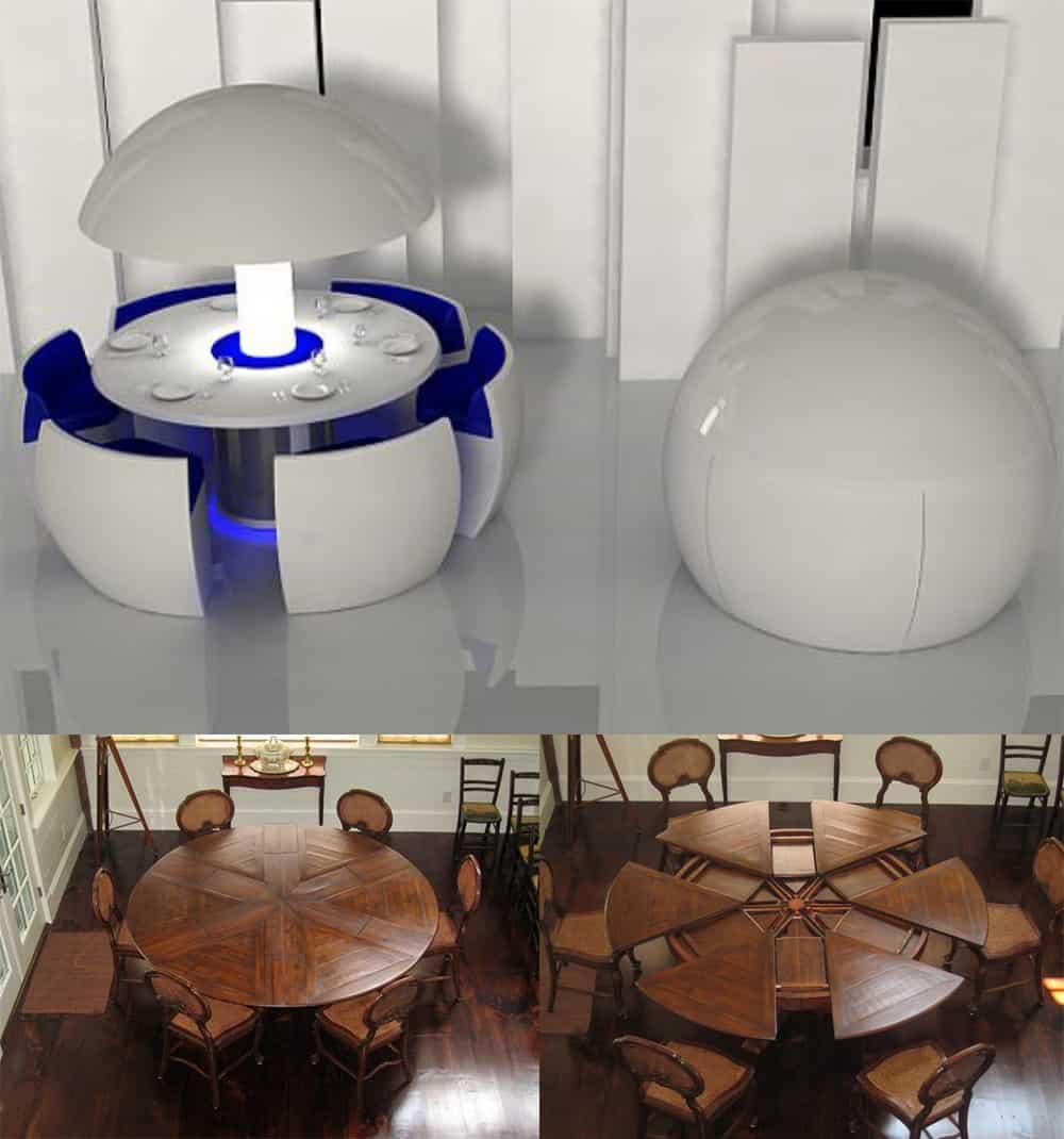 Table-transformer-Dining-room-2018-dining-room-trends-2018-dining-room-design-dining room 2018