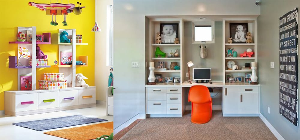 Table-with-cabinets-Kids-room-2019-kids-room-design