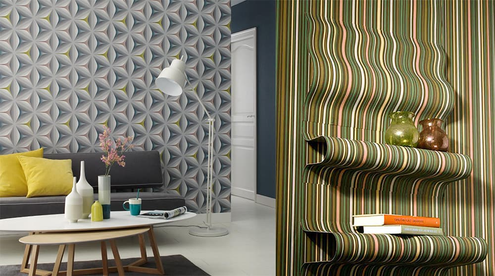 Wall design ideas and tendencies wallpaper trends 2018 for Interior design trends 2018