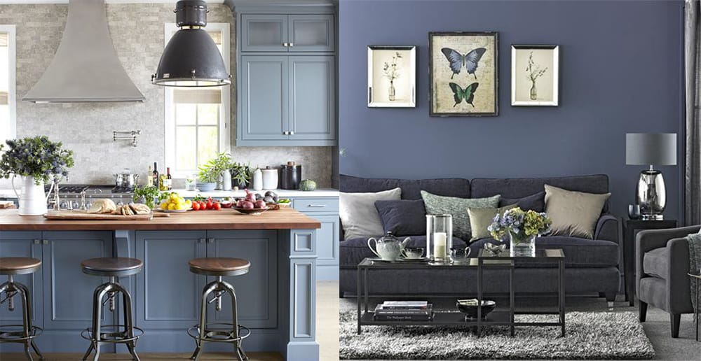 Blue-grey-Interior-color-combinations-home-trends-2018-interior-color-schemes-interior color combinations