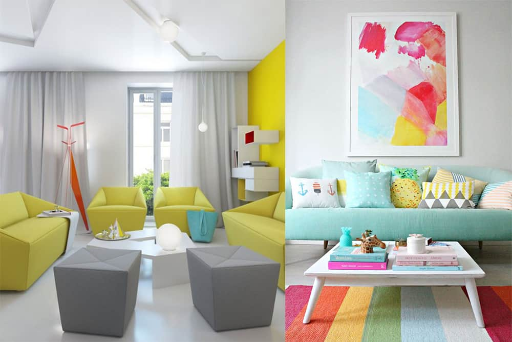 Home trends 2018 main rules for interior color combinations for Colour schemes for interiors