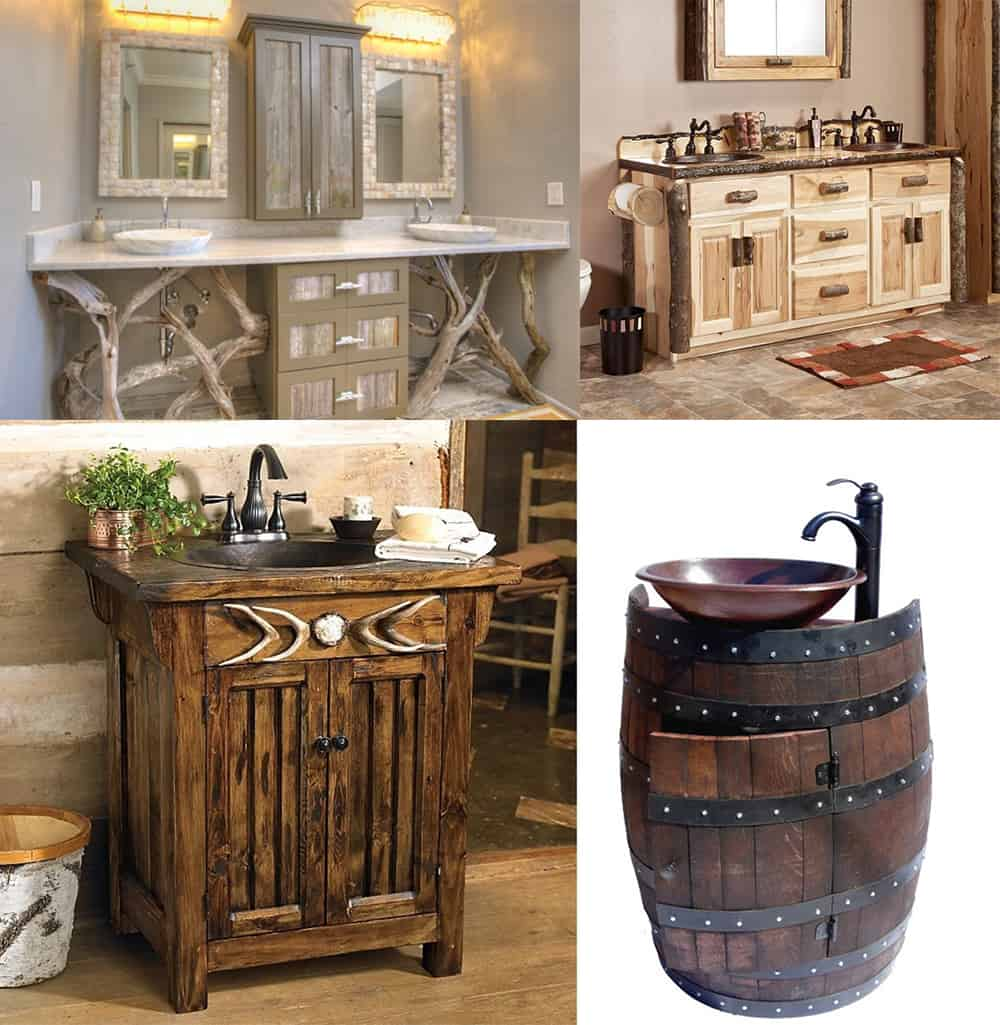 Contemporary bathroom design incredible rustic bathroom decor for Bathroom ideas rustic modern