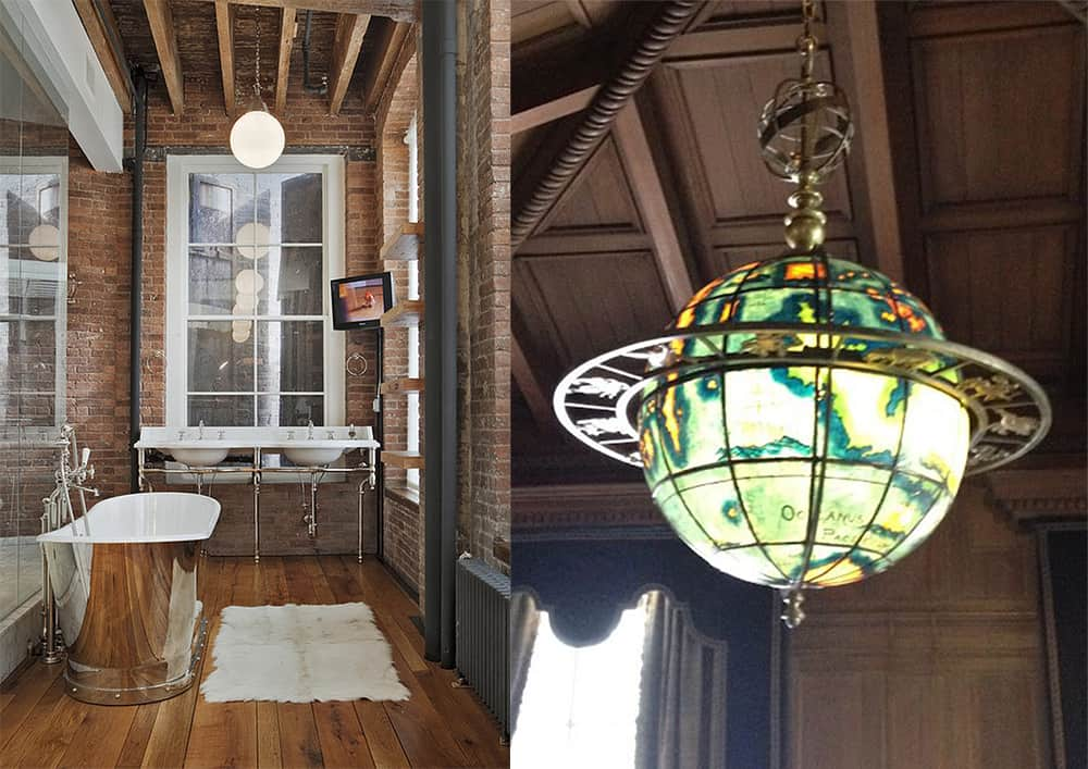 Ceiling-Steampunk-bathroom-bathroom-designs-2020-bathroom-decor-ideas-Bathroom decor ideas