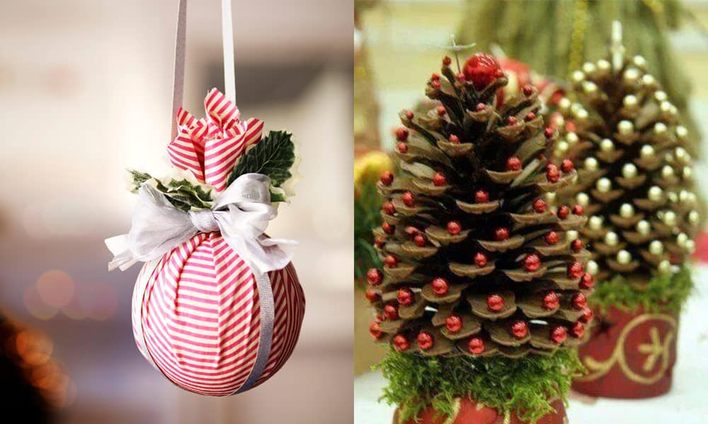 Christmas decorations 2018: DIY Xmas decorations