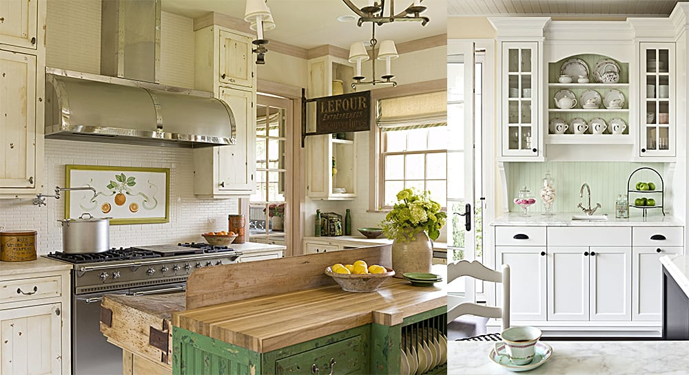 Modern kitchens 2018 cottage style kitchen ideas and features for Kitchen ideas for 2018