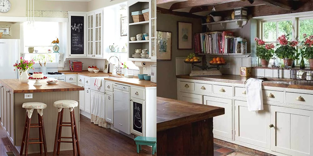 Modern kitchens 2018 cottage style kitchen ideas and features for Kitchen ideas 2018 uk