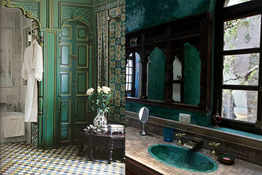 Green-Moroccan-bathroom-2018-bathroom-trends-bathroom-ideas-2018--Moroccan bathroom-2018 bathroom trends