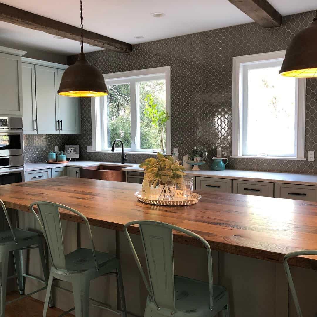 Modern Home Exterior Design Ideas 2017: Modern Kitchens 2020: Cottage Style Kitchen Ideas (35 Photos