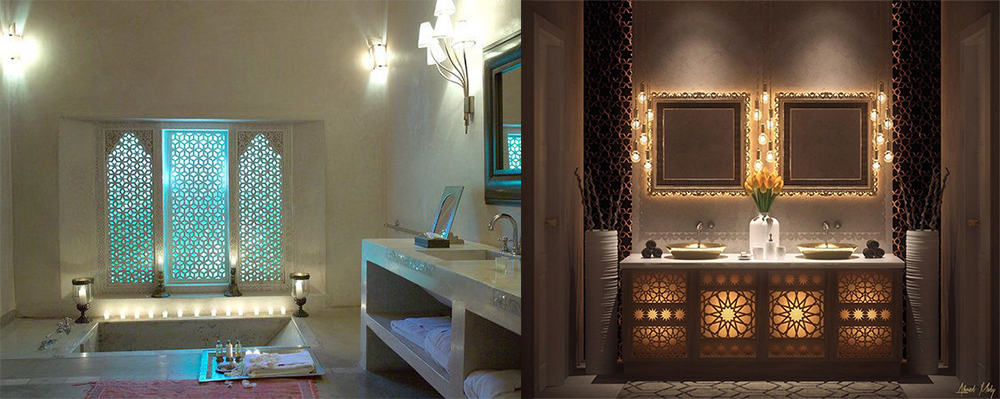 Moroccan-bathroom-2018-bathroom-trends-bathroom-ideas-2018-Moroccan bathroom: 2018 bathroom trends